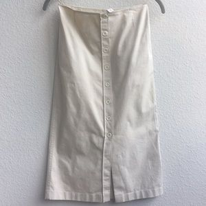PRADA Vintage Tan Business Skirt